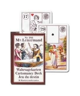 Jeu de cartes - Tarot Mlle Lenormand