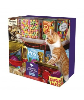 Puzzle - Paw drops - Sugar Mice