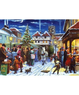 Puzzle Falcon - Christmas Market