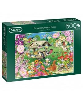 Puzzle Falcon - Summer Garden Birds