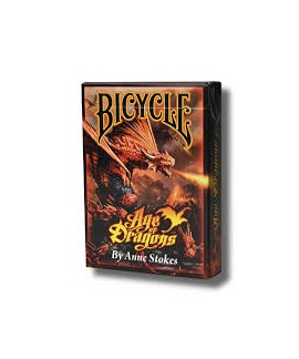 Jeu de 54 cartes - Bicycle - Age of Dragons