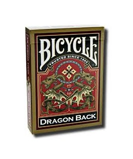 Jeu de 54 cartes - Bicycle - Dragon Back