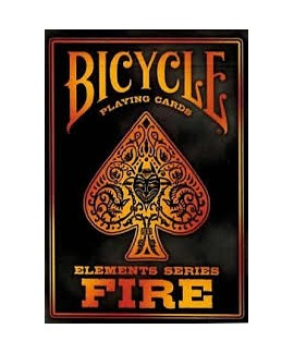 Jeu de 54 cartes - Bicycle - Fire