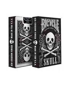 Jeu de 54 cartes - Bicycle - Skull