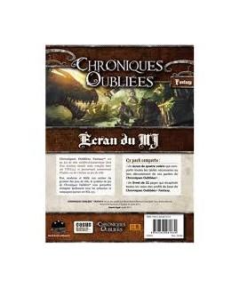 Chroniques Oubliées - Ecran MJ