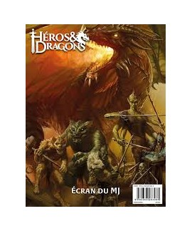 Heros et Dragons - Ecran du MJ