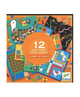 Coffret - 12 jeux classics