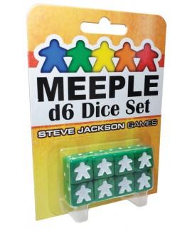 Dé - D6 - Meeple