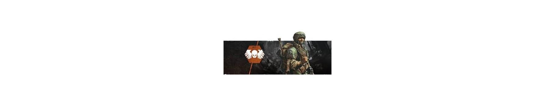 L'Armée des Astra Militarum de votre Ludicaire Au Chapeau Enchanté