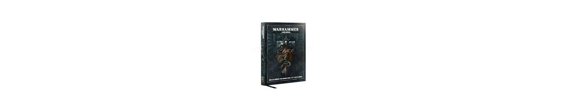 Index, Codex, Règles & Accessoires Warhammer 40K de votre Ludicaire Au Chapeau Enchanté