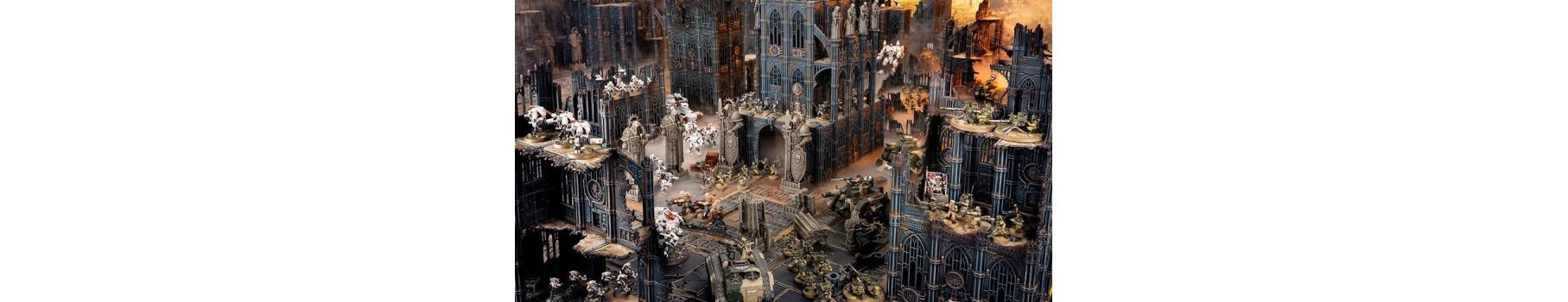 Les Terrains de Warhammer 40K de votre Ludicaire Au Chapeau Enchanté