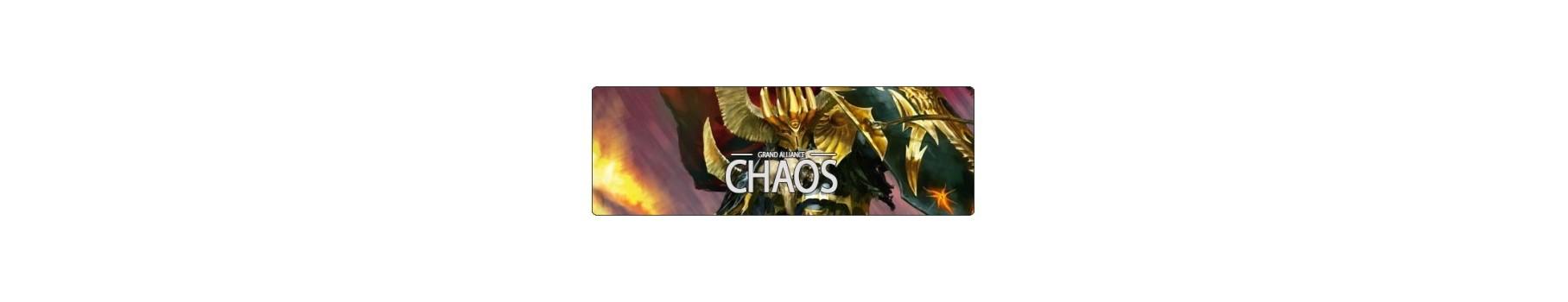 La Grande Alliance du Chaos - AoS de votre Ludicaire Au Chapeau Enchanté