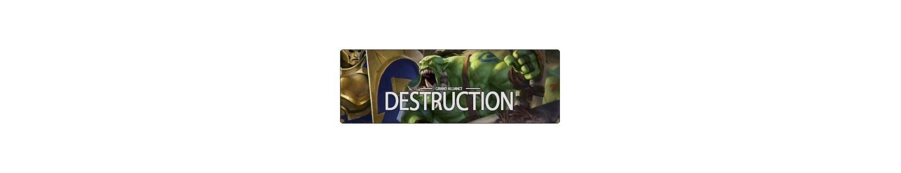 La Grande Alliance de la Destruction - AoS de votre Ludicaire Au Chapeau Enchanté