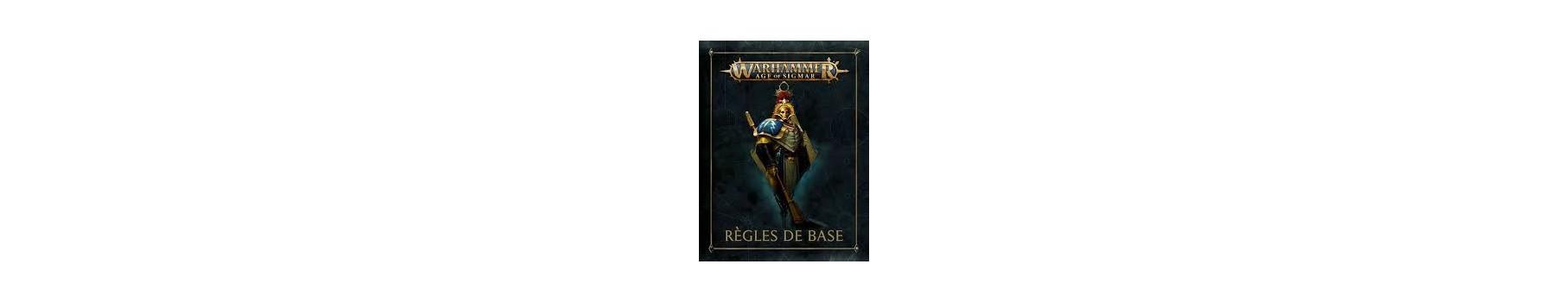 Index, Codex, Règles & Accessoires Warhammer Age of Sigmar de votre Ludicaire Au Chapeau Enchanté