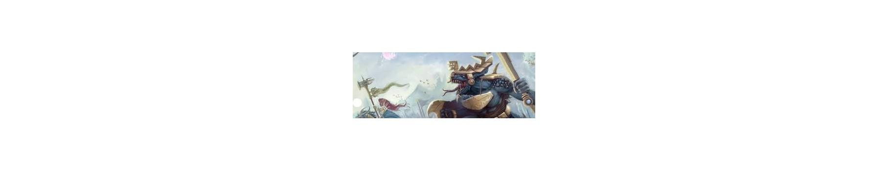 L'Armée des Seraphon de votre Ludicaire Au Chapeau Enchanté