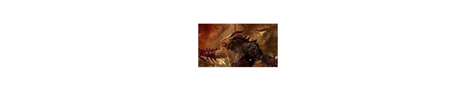 L'Armée des Beasts of Chaos de votre Ludicaire Au Chapeau Enchanté