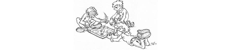 Jeux pour enfants, de votre Ludicaire Au Chapeau Enchanté