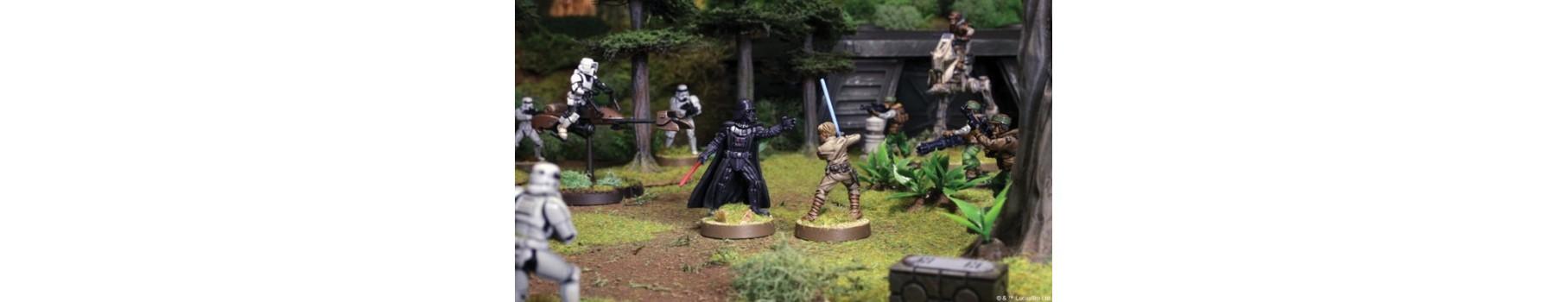 L'Univers Star Wars Legion de votre Ludicaire Au Chapeau enchanté