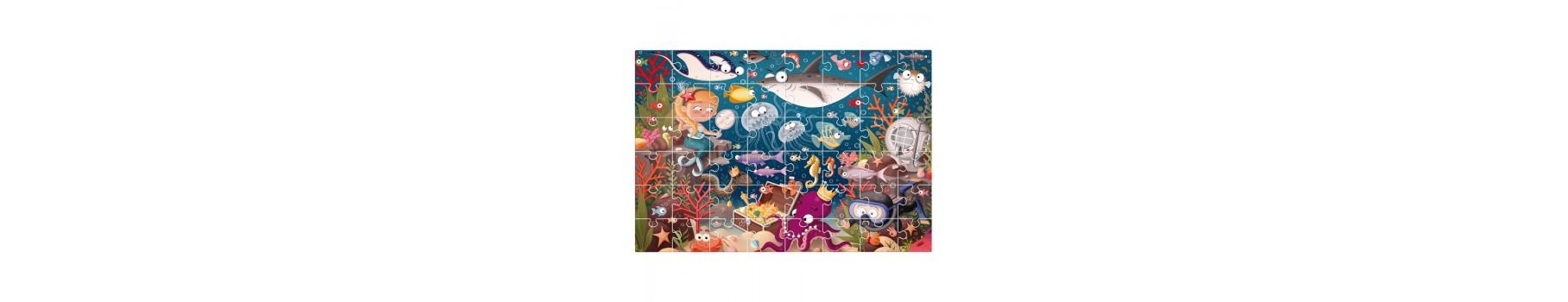 Les puzzles pour enfants de votre Ludicaire Au Chapeau Enchanté