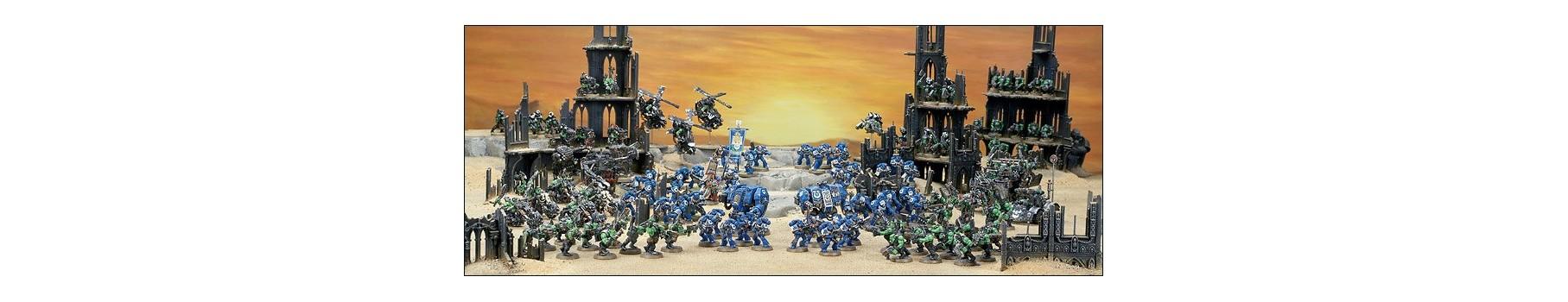 L'Univers Warhammer 40,000 de votre Ludicaire Au Chapeau Enchanté